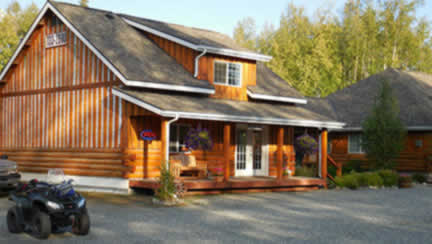 Denali Fireside office, check in here when you stay in Talkeetna, Alaska